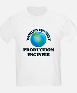 World's Funniest Production Engineer T-Shirt