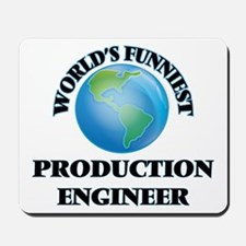 World's Funniest Production Engineer Mousepad