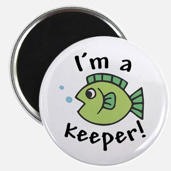 I'm a Keeper! (Fish) Magnet