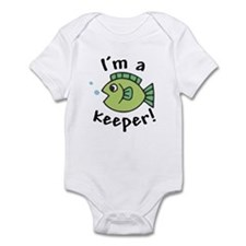 I'm a Keeper! (Fish) Infant / Baby Bodysuit