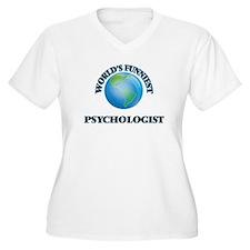 World's Funniest Psychologist Plus Size T-Shirt