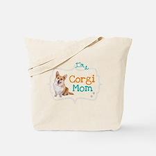 Im a Corgi Mom Tote Bag