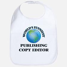 World's Funniest Publishing Copy Editor Bib
