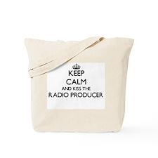 Keep calm and kiss the Radio Producer Tote Bag