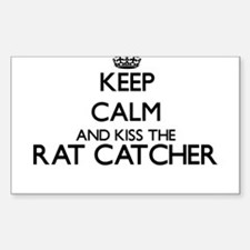 Keep calm and kiss the Rat Catcher Decal