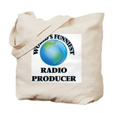 World's Funniest Radio Producer Tote Bag