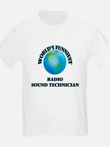 World's Funniest Radio Sound Technician T-Shirt