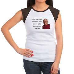 Dalai Lama 13 Women's Cap Sleeve T-Shirt