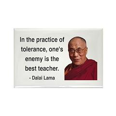 Dalai Lama 13 Rectangle Magnet