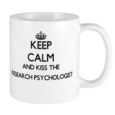 Keep calm and kiss the Research Psychologist Mugs