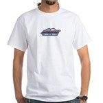 American Born and Bred White T-Shirt