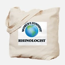 World's Funniest Rhinologist Tote Bag