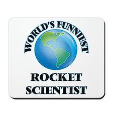 World's Funniest Rocket Scientist Mousepad