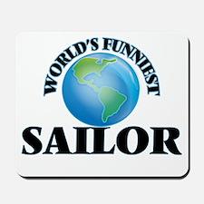 World's Funniest Sailor Mousepad