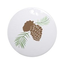 The Outdoors Ornament (Round)