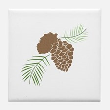 The Outdoors Tile Coaster