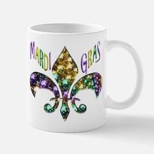 Mardi Gras Fleur Mugs