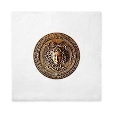 Greek Shield Medusa Queen Duvet
