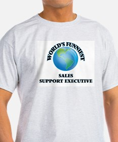 World's Funniest Sales Support Executive T-Shirt