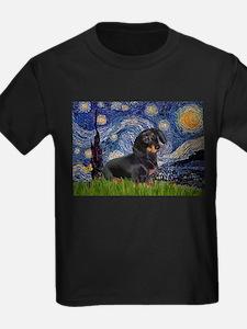 Starry Night Dachshund T