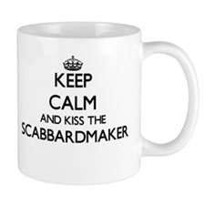 Keep calm and kiss the Scabbardmaker Mugs