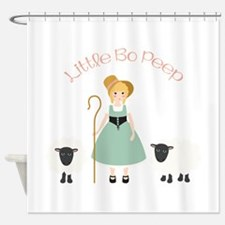 Bo Peep Shower Curtain
