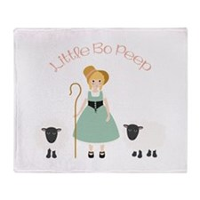 Bo Peep Throw Blanket