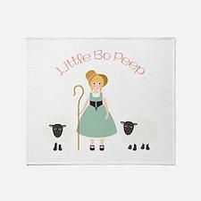 Bo Peep Throw Blanket