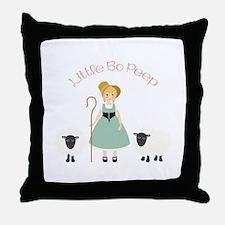 Bo Peep Throw Pillow