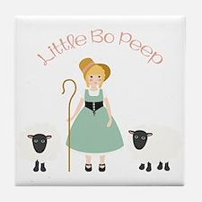 Bo Peep Tile Coaster