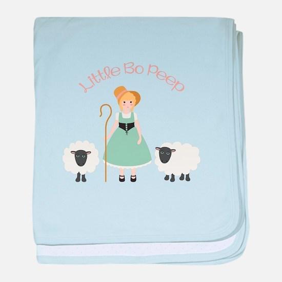 Bo Peep baby blanket