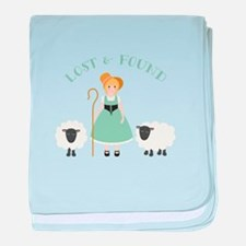 Lost & Found baby blanket