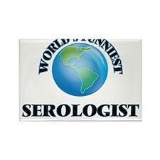 World's Funniest Serologist Magnets