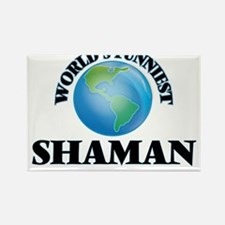 World's Funniest Shaman Magnets