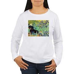 Irises & Dachshund (BT4) T-Shirt