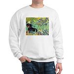 Irises & Dachshund (BT4) Sweatshirt