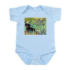Irises & Dachshund (BT4) Infant Bodysuit