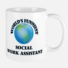 World's Funniest Social Work Assistant Mugs