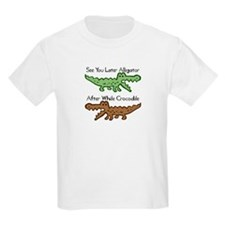 Alligator and Crocodile T-Shirt