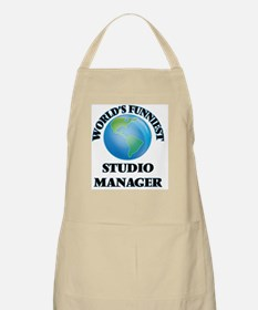 World's Funniest Studio Manager Apron