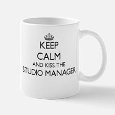 Keep calm and kiss the Studio Manager Mugs