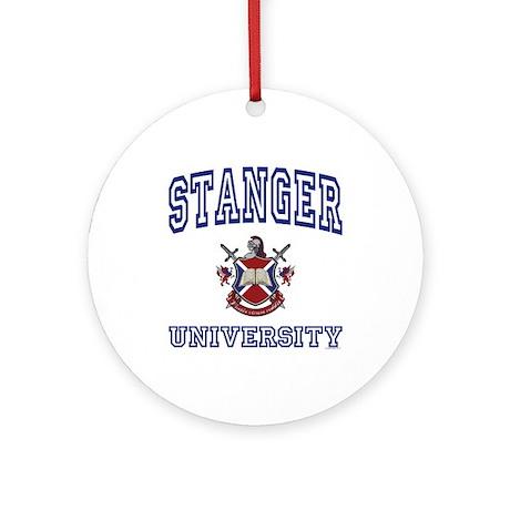 STANGER University Ornament (Round)