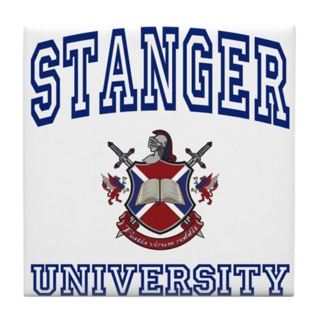 STANGER University Tile Coaster