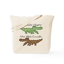 Alligator and Crocodile Tote Bag