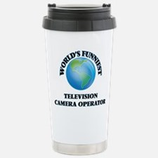 World's Funniest Televi Stainless Steel Travel Mug