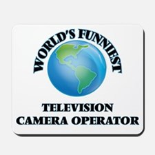World's Funniest Television Camera Opera Mousepad