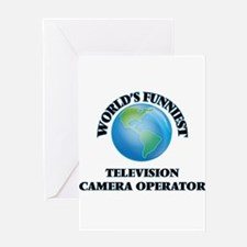 World's Funniest Television Camera Greeting Cards