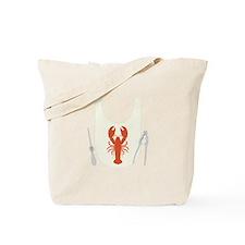Lobster Bib Tote Bag