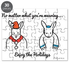 Enjoy the Holidays Puzzle