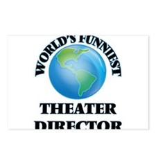 World's Funniest Theater Postcards (Package of 8)